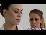 Nurse babes wrestling before lesbiansex