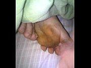 mi mujer y mi lechita en los pies.