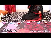 indian aunty mona bhabhi celebrating diwali.