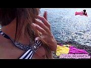 Deutsche Mallorca Urlauberin abgeschleppt und gefickt am Strand
