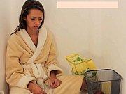 sick girl vomit puke puking vomiting.
