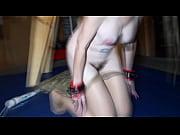 milf porsha plays in the garage