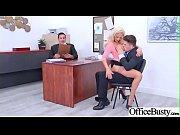 (Olivia Fox) Office Girl With Round Big Boobs Enjoy Hard Sex movie-24