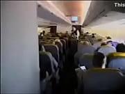 estas viniendo en el avion dice la azafata