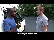 Black sexy gay boys bang white studs 21 Thumbnail