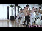ballet chicks gets the d from their horny intructor