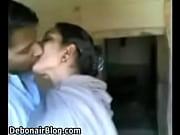Hot mouth kissing to his bhabhi