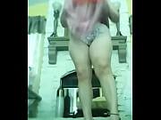 madura en falda