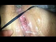 Rasierte mösen abspritzen in der muschi