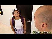 latina teen sitter jizzed