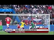 RUSIA VIOLA A ARABIA EN EL MUNDIAL CON 5 GOLES :V