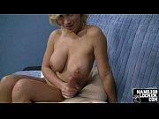 Big tit blonde handjob