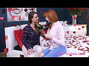 lesbea german teen redhead valentine 69 and scissors.