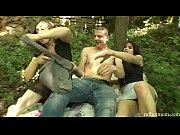 Домашнее видео русских свингеров на природе