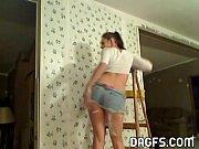Порно красивая попка массаж вк