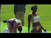 african ebony black track star sexy.