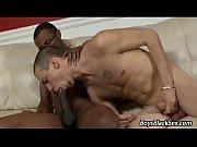 blacks on boys - bareback gay interracial porn.