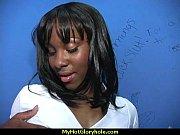 incredible ebony teen blowjob gloryhole audition.