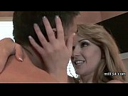 hot mature busty blonde cougar licks.