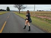 masturbating on the road