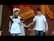 upskirt russian school dance oops #10.