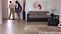 Sultry Teen Entices Her School Teacher