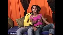 Sweet Indian teen puts her beautiful tits and pussy to work - Porn300.com