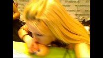 HollyHanna Deepthroats a dildo