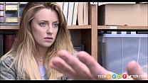 Cute Blonde Teen Shoplifter Kate Kenzi Rough Fuck From Horny Security Guard Thumbnail