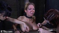 Ravishing castigation for lusty babe