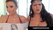 Cuba's #1 Export Angelina Castro & Sara Jay Blo...