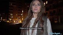 Public Agent Cheeky Brit Carmel Anderson gets a...