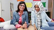 MIA KHALIFA - Busty Arab Pornstar Trains Her Mu...