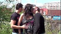 gangbang threesome public fox stella Pregnant