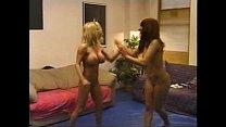 blonde brunette catfight 2 3