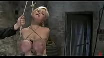 busty blonde katie kox bondage maledom bdsm