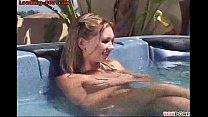 tub hot the in kinky gets friend Young
