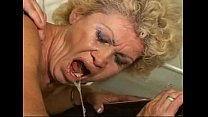 Sex-proof granny - Effie kitchen - hairy