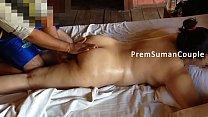 Desi wife Suman getting nude massage hubby film...