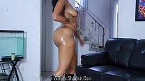 black nude dance