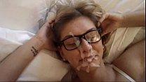 Секс от женщины возбужденной в прозрачном нейлоне