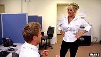 WANKZ- Holly Halston is the Ultimate MILF Boss thumb