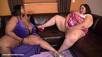 Bbw threesome, Cotton Candi and Anastasia Vande... Thumbnail