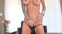 Tattooed Milf Sarah Jessie Shows Cocksucking Skill - download porn videos