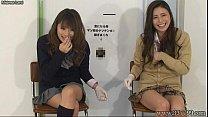 Japanese femdom give handjob and cunnilingus to...