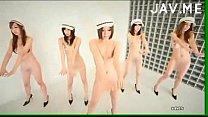6 em gái Nhật nhảy ngá»±a