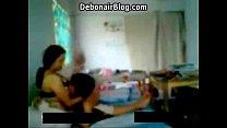 Horny Desi Couples Kissing Sucking cute Boobs Thumbnail