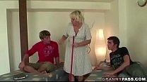 Granny Threesome Sex