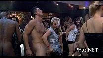 Bitches found diminutive dick in club