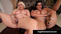 Cuban BBW Angelina Castro & Bedelli Buttland Ba...